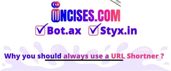 Why you should always use a reliable URL Shortner like bot.ax